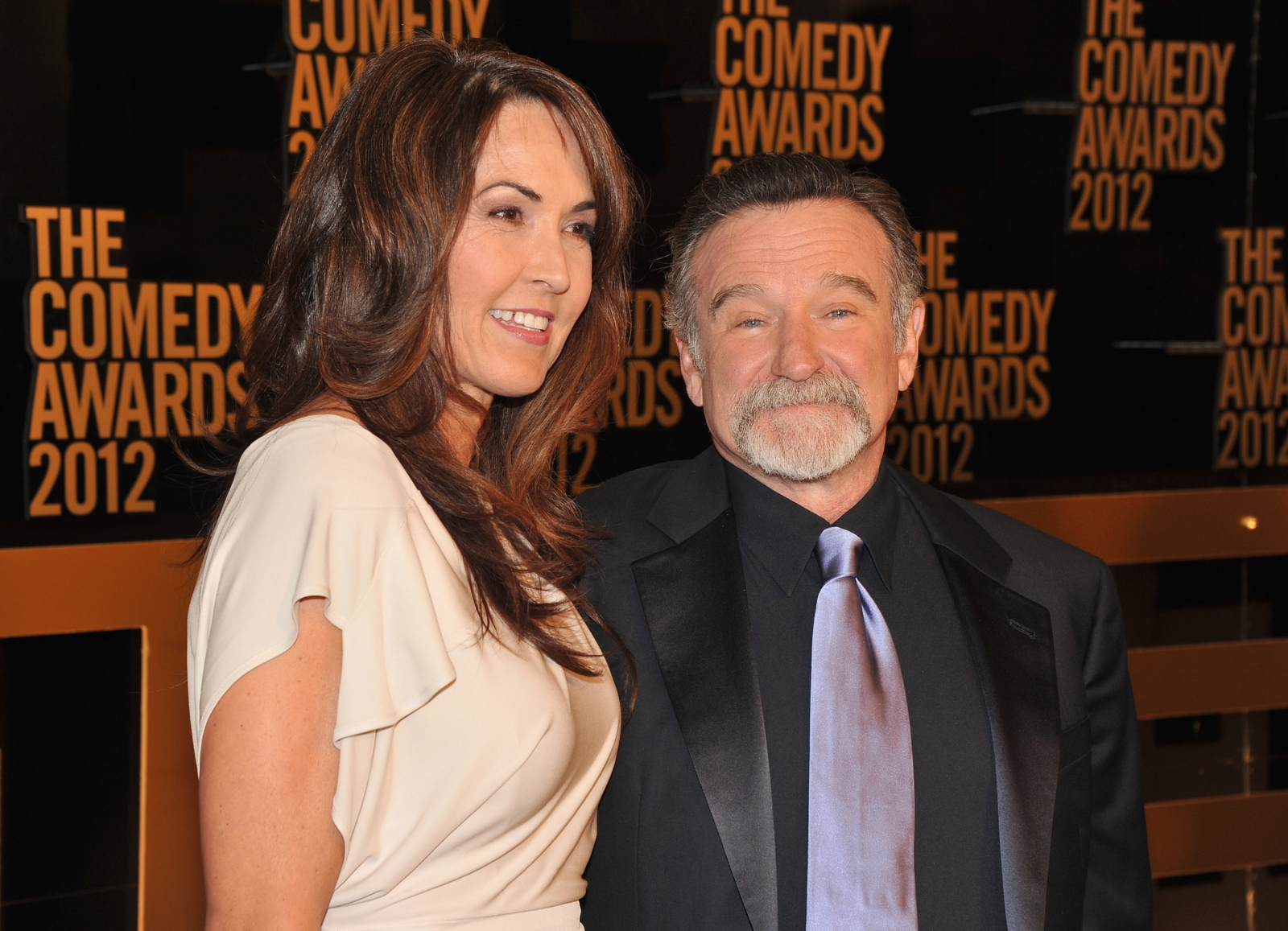 Susan Schneider and Robin Williams