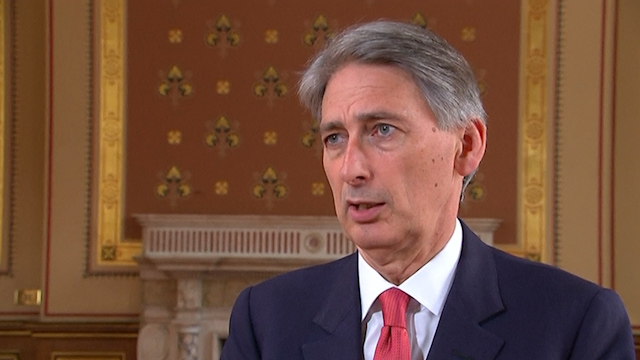 "Hammond: No Combat Role in Iraq ""at Present Time"""