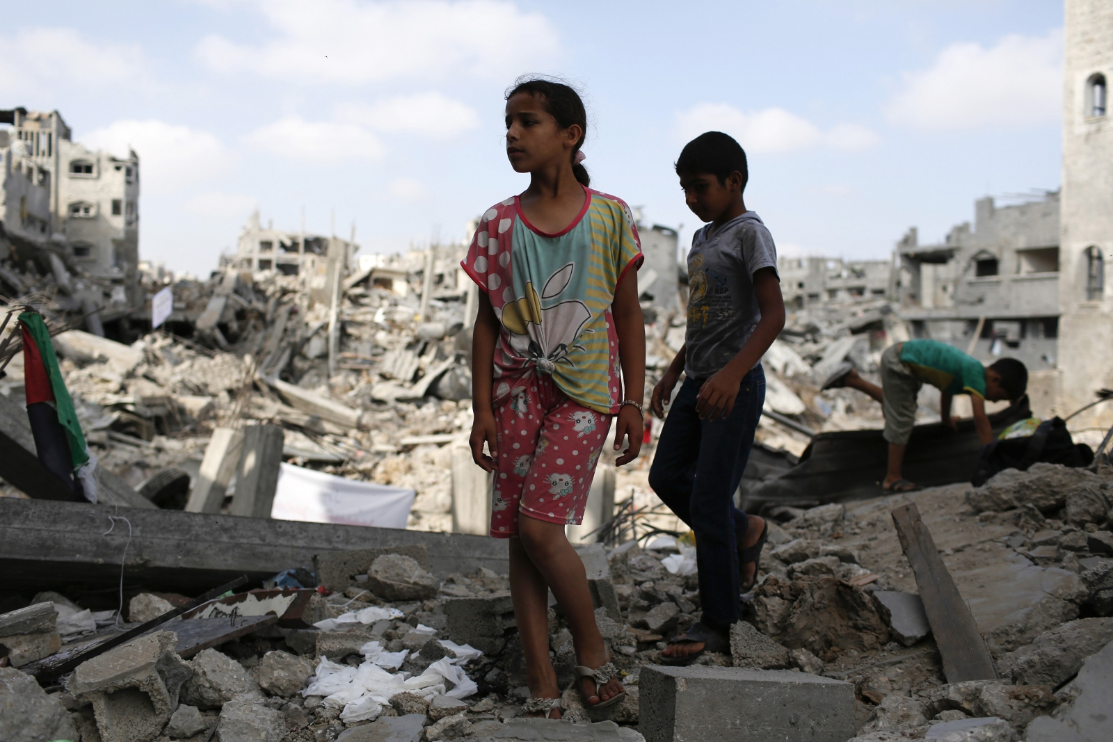 Gaza Strip Rebuilding to Cost Billions of Dollars