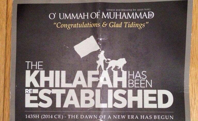 Isis leaflet