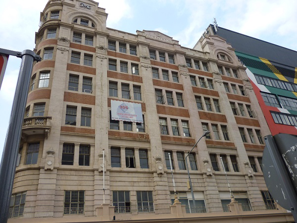 Stuttafords department store in Johannesburg\'s downtown district