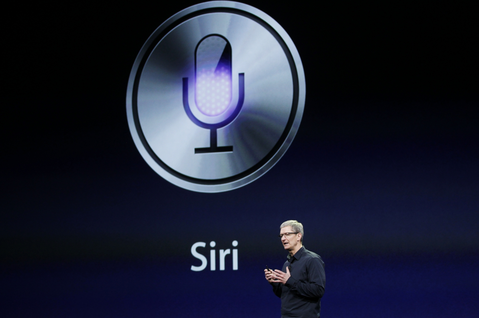 Apple change voicemail with Siri