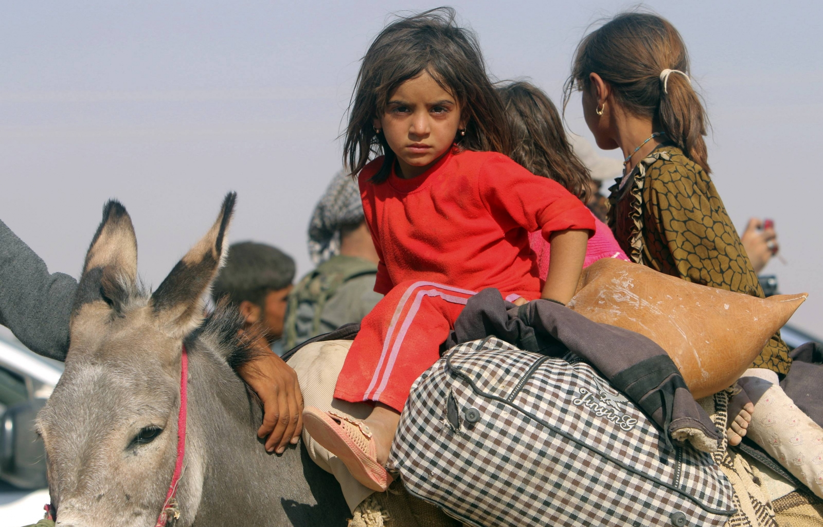 Yazidi Refugees Face Rough Living Conditions on Mount Sinjar