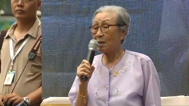 South Koreans Rally with Former Comfort Women in Anti-Japan Protest