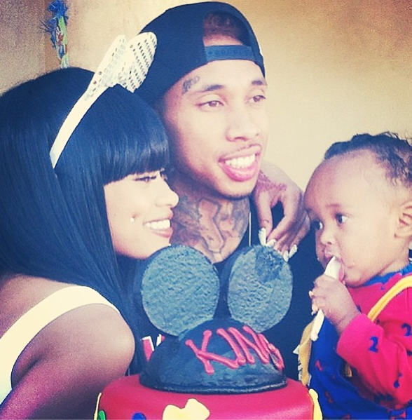 Tyga and Blac Chyna
