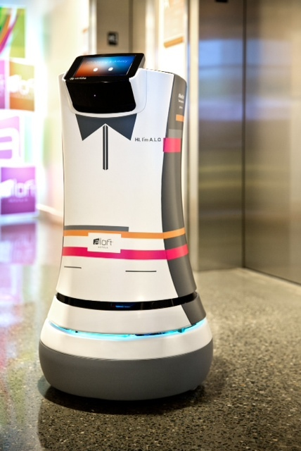 Meet Botlr World S First Robot Bellhop Being Trialled At