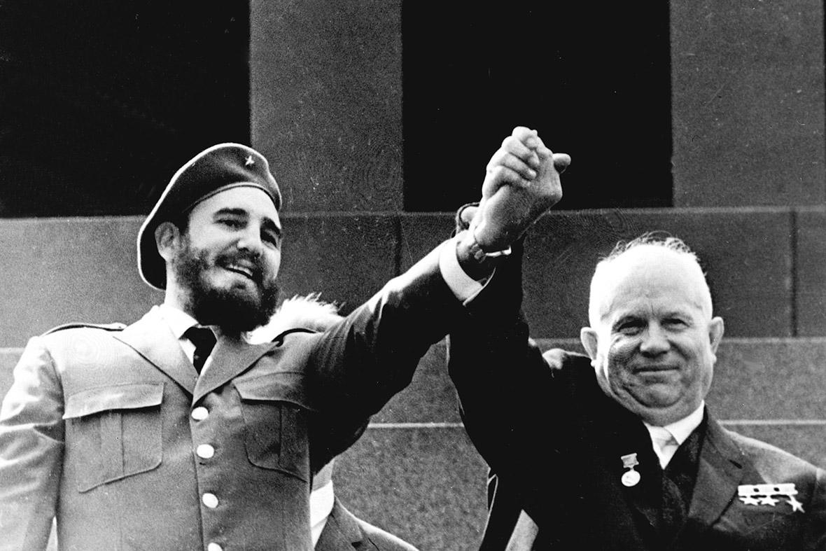 Image result for fidel castro khrushchev