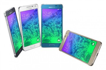 Samsung Galaxy Alpha Launched with All-Metal Body