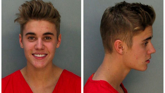 Justin Bieber arrested in his home town for dangerous driving