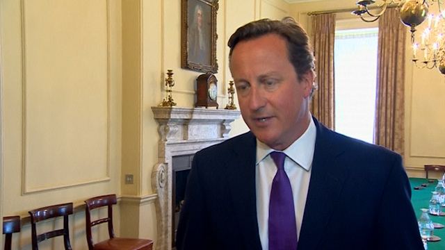 Cameron: Plans Afoot to Rescue Yazidis