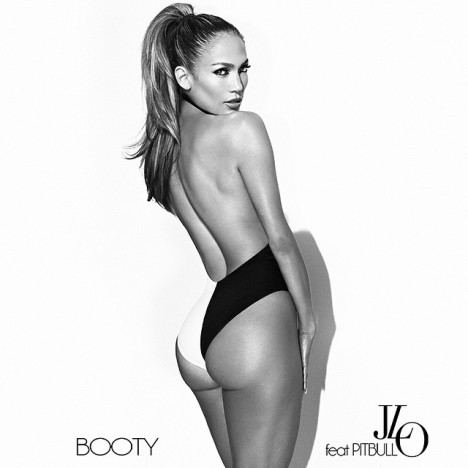 Jennifer Lopez 'Booty' artwork
