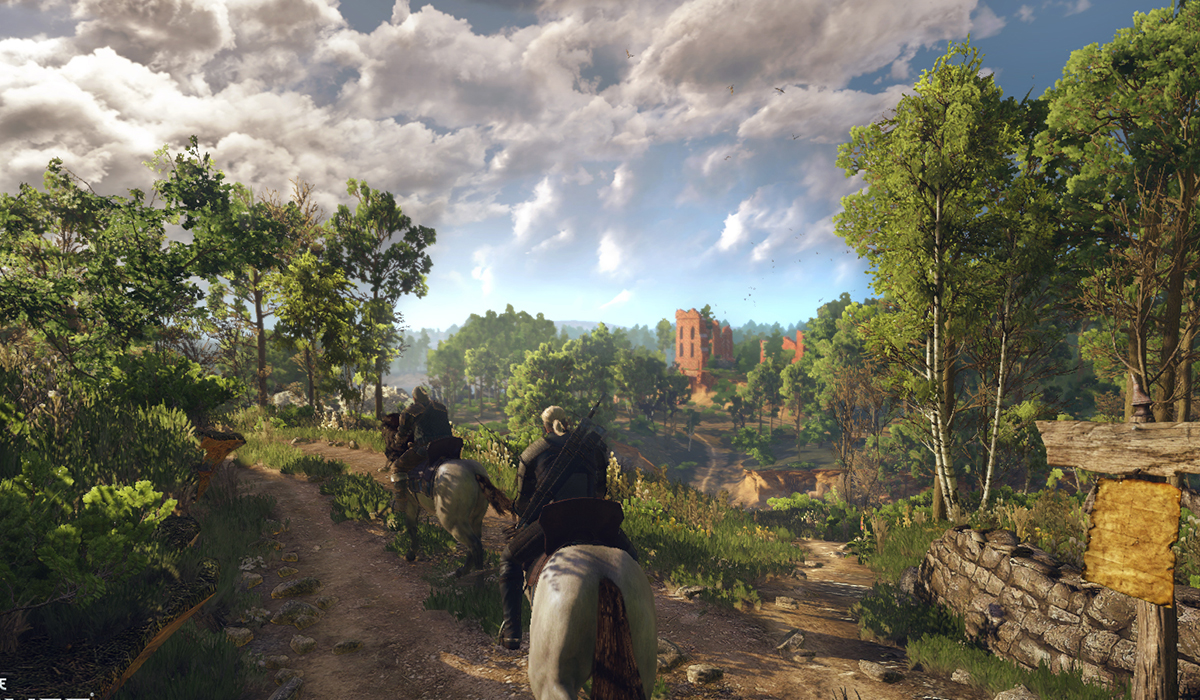 The Witcher 3 contains 16 hours of sex scene motion