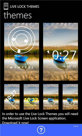 Live Lock Themes App for Windows Phone 8.1 Live Lock Screen Beta Provides  New Wallpapers and Themes ...