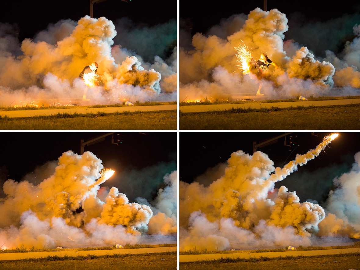 Michael Brown Shooting: Gaza Strip Tweets Ferguson About How to Deal With Tear Gas