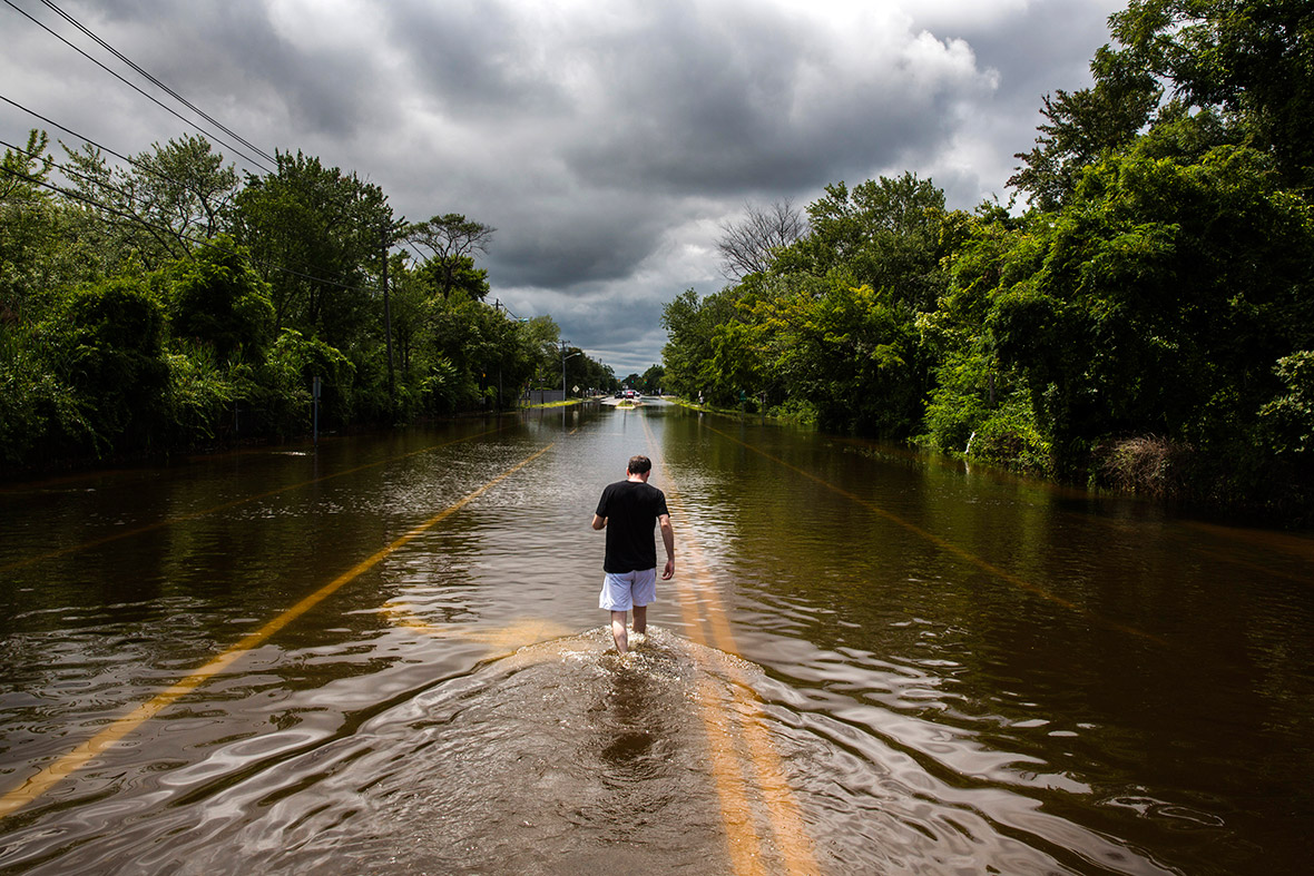 US floods