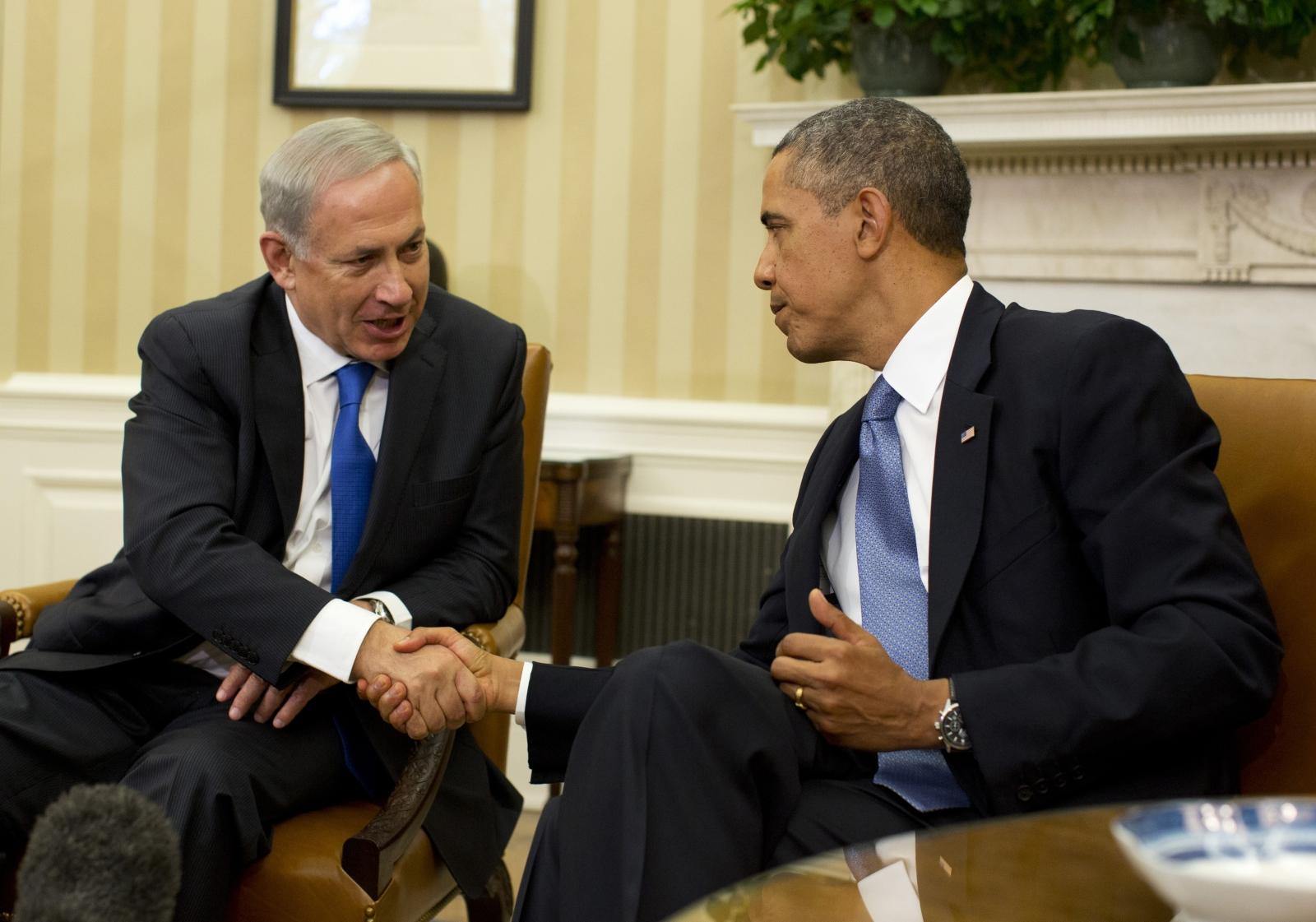 Obama Netanyahu US Israel
