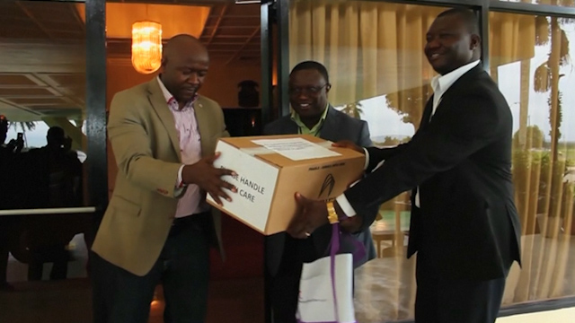 Consignment of Experimental Ebola Drug Arrives in Liberia