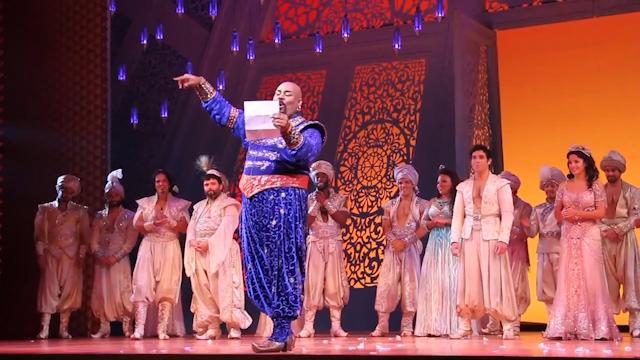 Aladdin Stage Cast Sing 'Friend Like Me' in Robin Williams Tribute