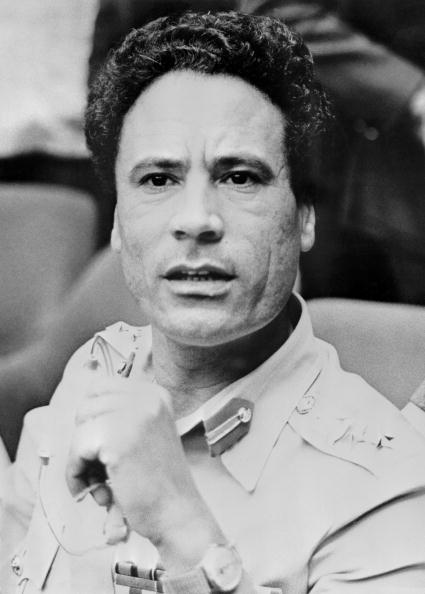Gaddafi in 1975 (Getty)