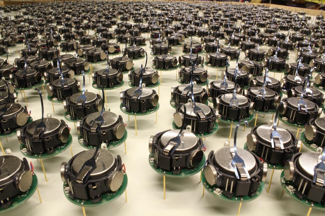 Kilobots robot swarm