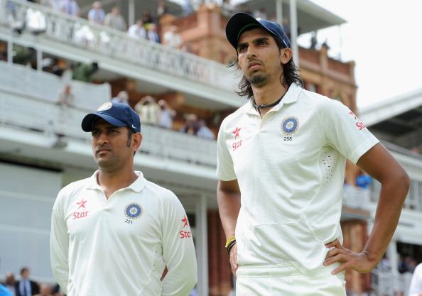 Ishant Sharma and MS Dhoni