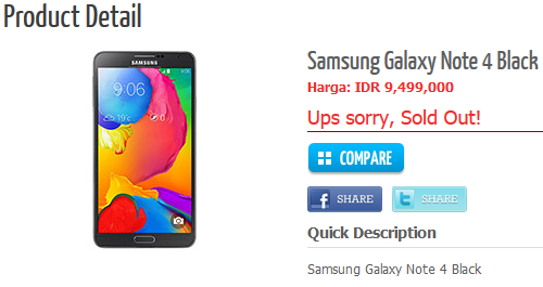 Samsung Galaxy Note 4 Full Specs Revealed