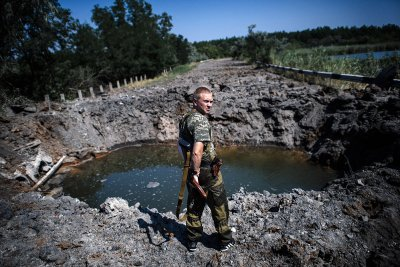 donetsk crater