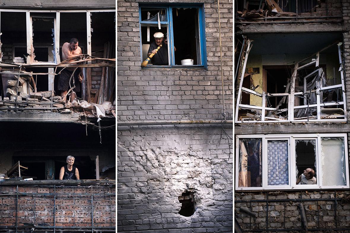 donetsk shelling
