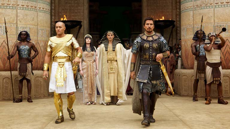 """Ridley Scott's upcoming film Exodus: Gods and Kings has been slammed for """"whitewashing"""" ancient Egyptians"""