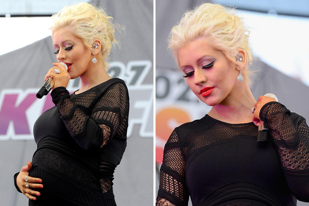 Christina Aguilera pregnant