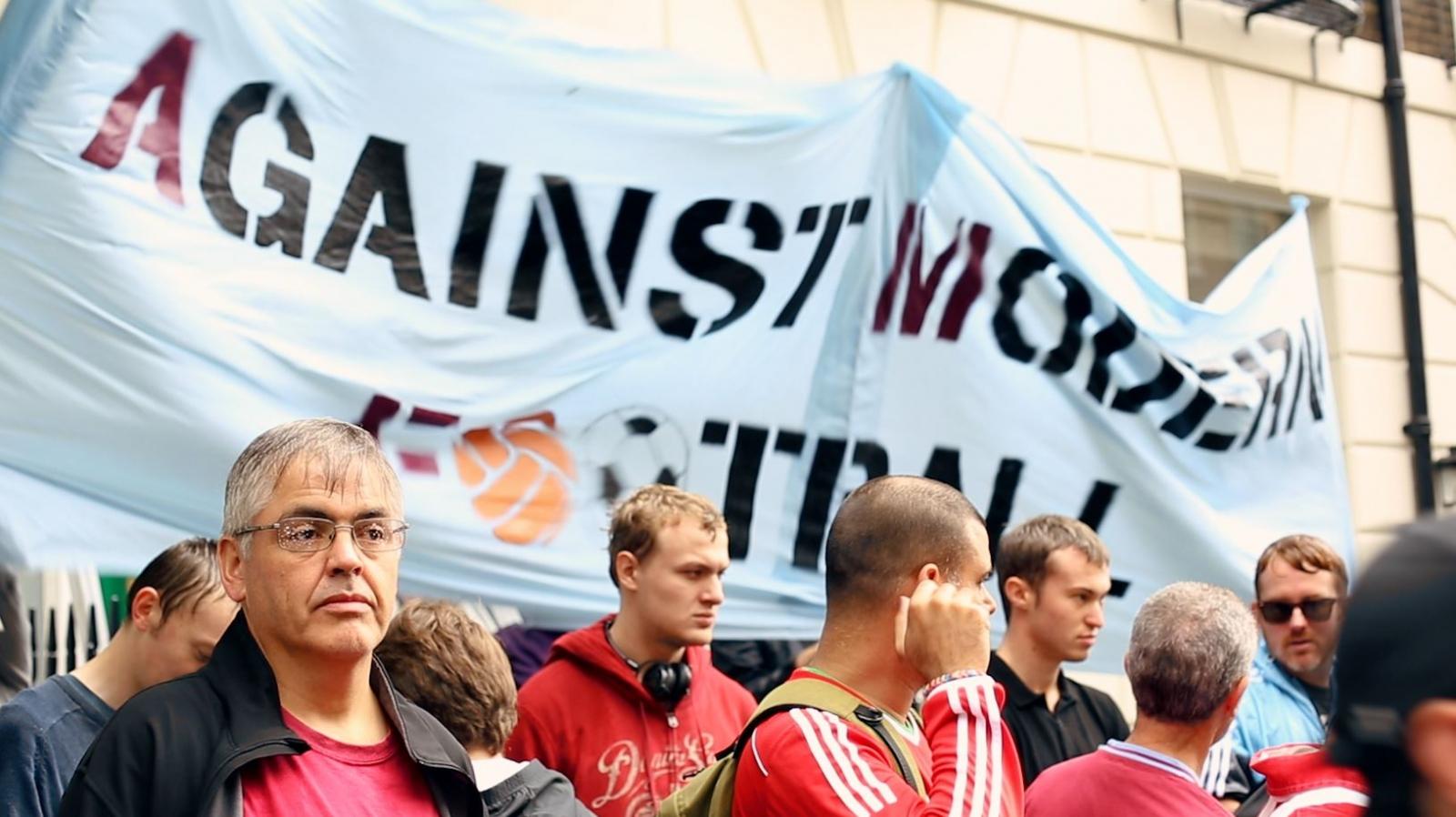 premier league protest