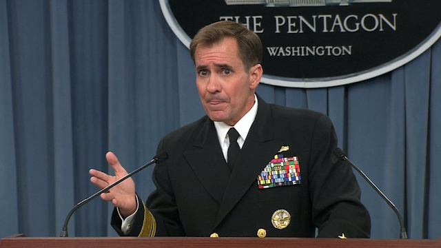 "Pentagon: Not Turning ""Blind Eye"" to Humanitarian Situation in Iraq"