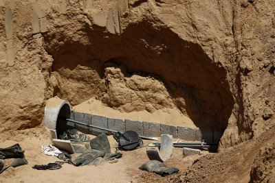 gaza tunnel exposed