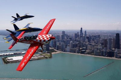US Navy Blue Angels chicago