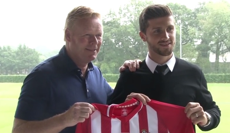 Ronald Koeman and Shane Long