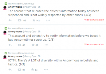 Anonymous Account Not respected