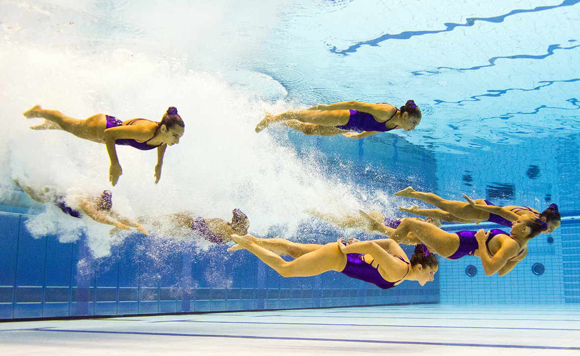 synchronised swimming 2014