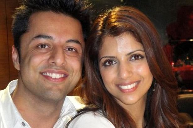Shrien Dewani and his murdered wife Anni