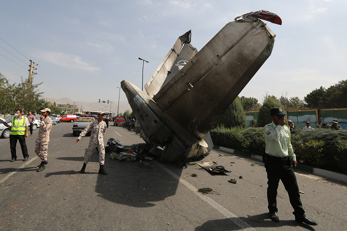 plane crash iran
