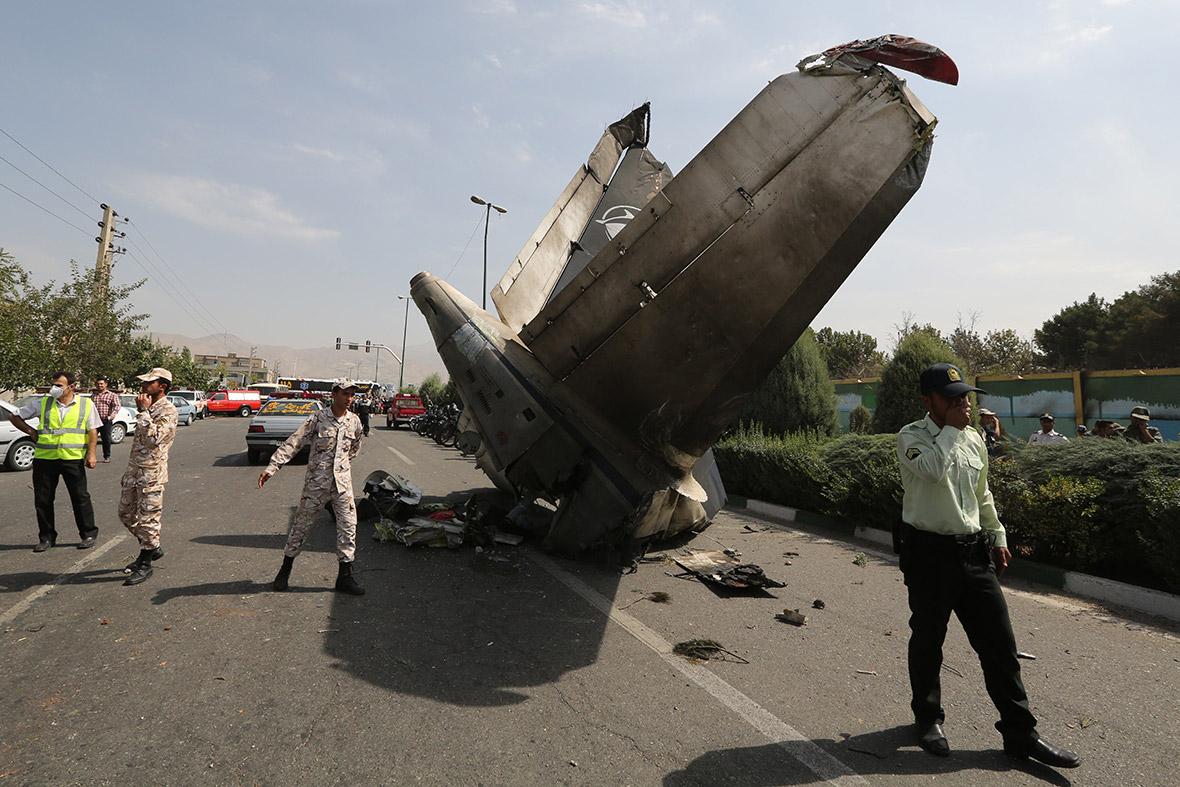 plane crash iran