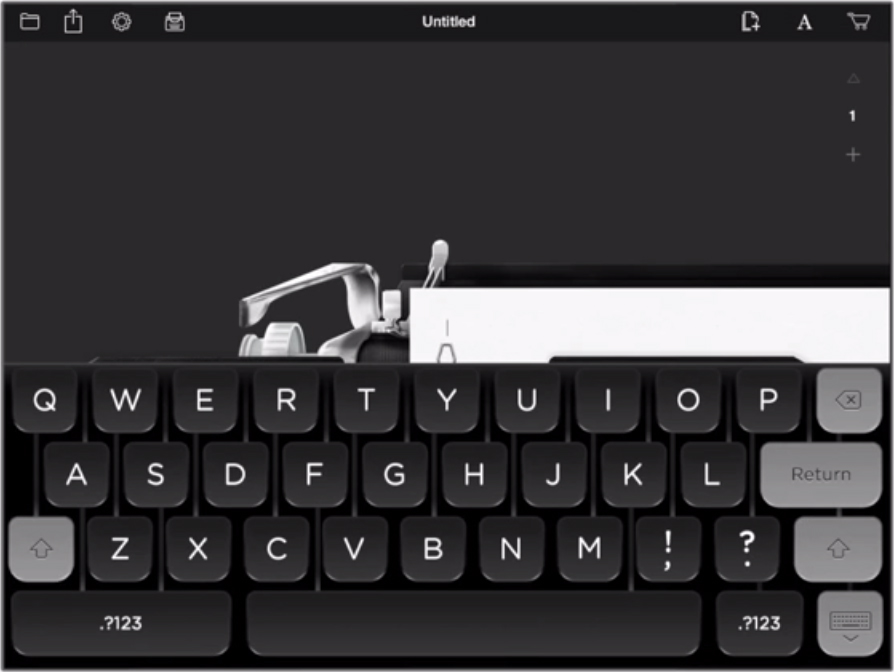 Tom Hank's new app Hanx Writer