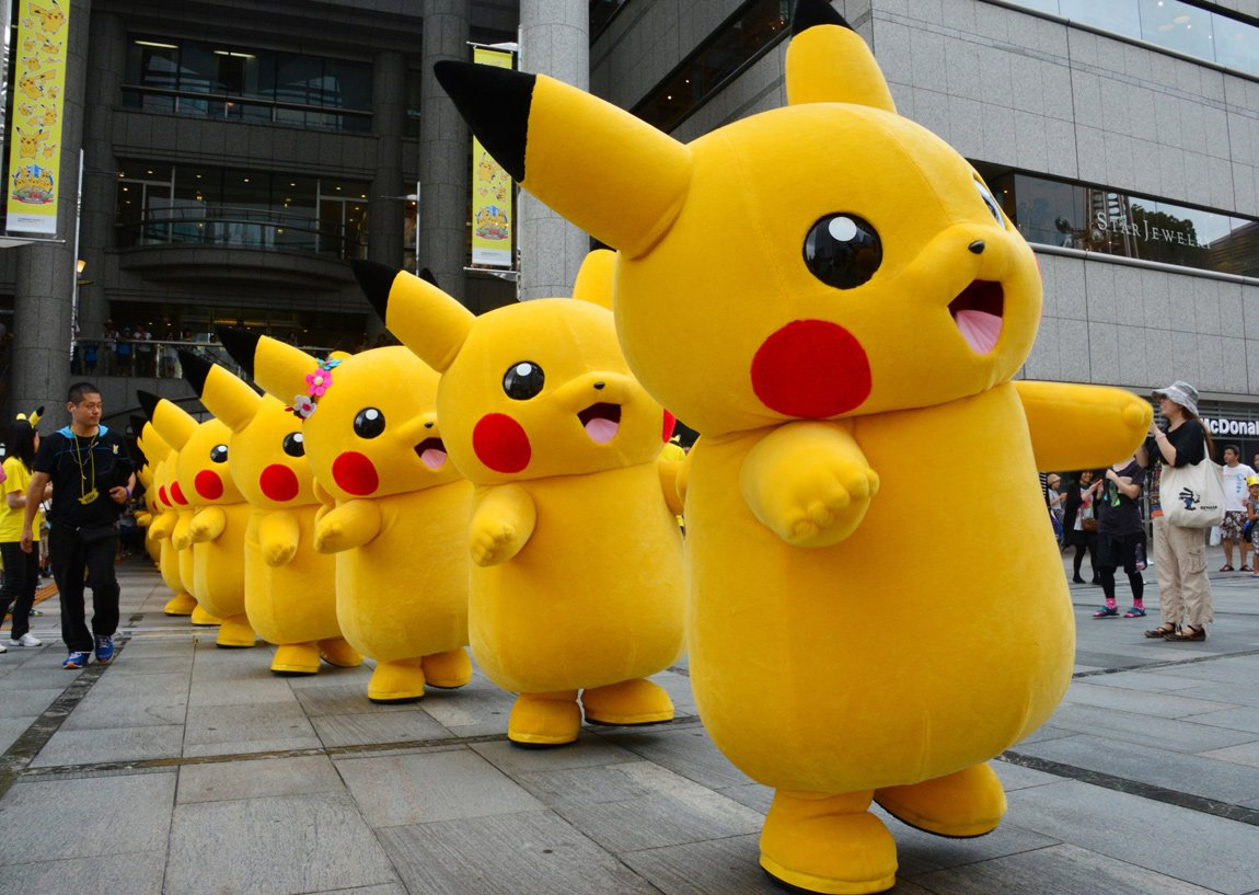 Pikachu outbreak festival in Yokohama, Japan 1