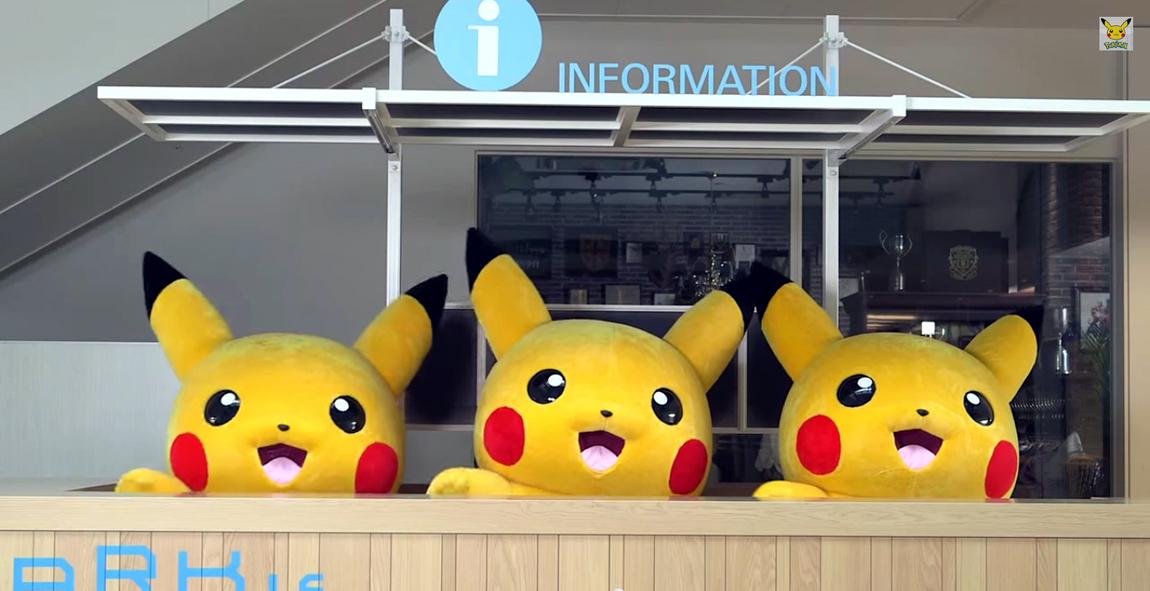 Pikachu outbreak festival in Yokohama, Japan 2