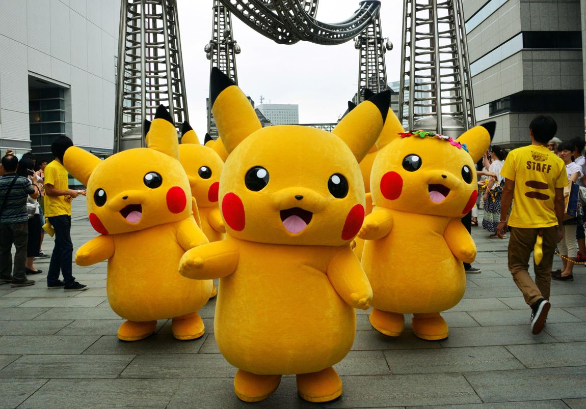 Pikachu outbreak festival in Yokohama, Japan 3