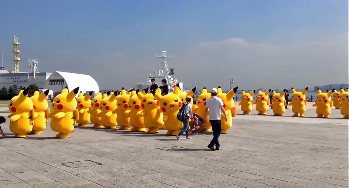 Pikachu outbreak festival in Yokohama, Japan 6