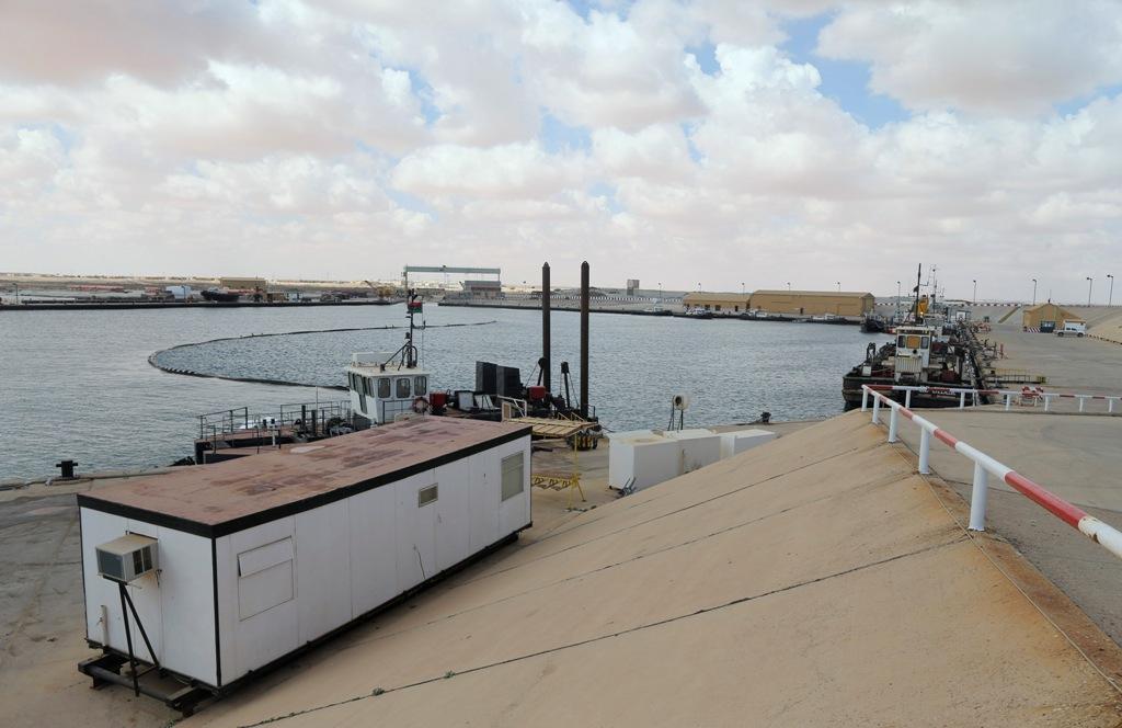 Es Sider Export Terminal Libya