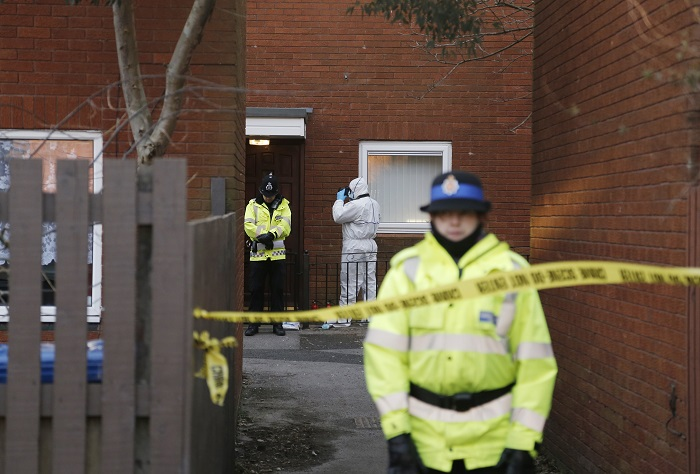 Manchester Police have launched an investigation after a 55-year-old women was arrested on suspicion of killing a three-week-old baby.