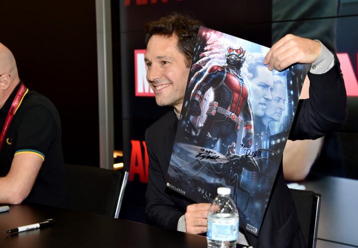 Actor Paul Rudd as Marvel's 'Ant-Man'