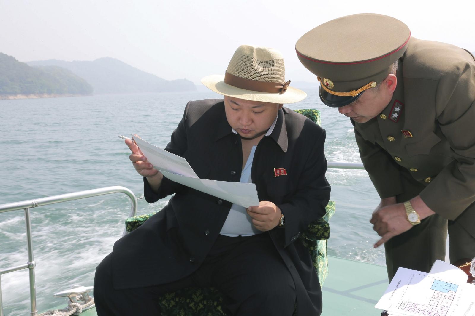 Kim Jong Un inspects scientists resort plans