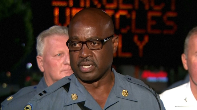 Police Responding to Aggresion in Ferguson Protests